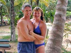 Джон и Джеки Книл,видно,что они были счастливы...
