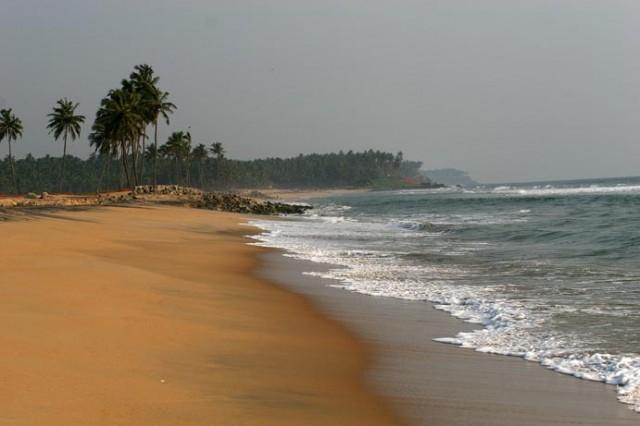 Дикий пляж. Керала