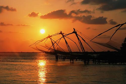 Chinese Fishing Nets - Tourist foto
