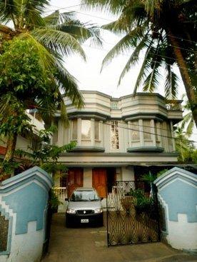 Дом, в котором мы жили у Оли