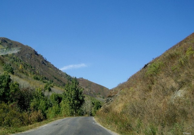 Осиновский перевал, вьезд от границы с Китаем