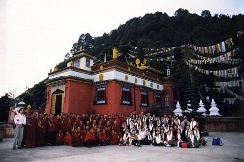 Монастырь религии Бон в Катманду Тритен Норбутзе