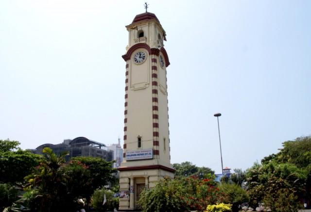 Часовая башня в Коломбо