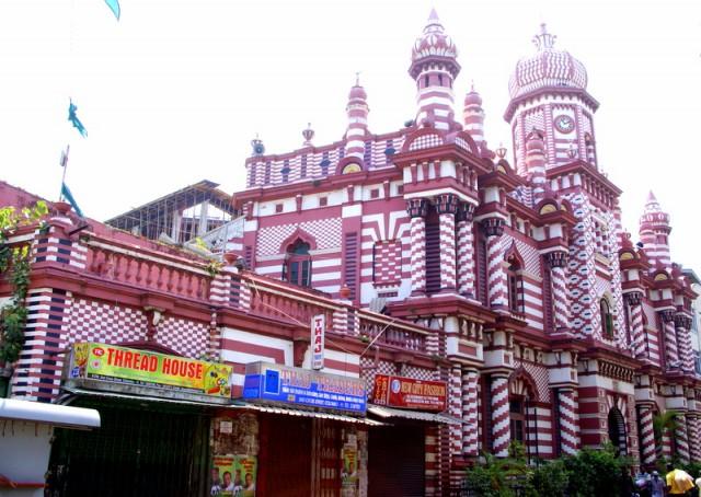 Самая большая мечеть в Коломбо