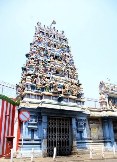 Индуистский храм на Sea Street