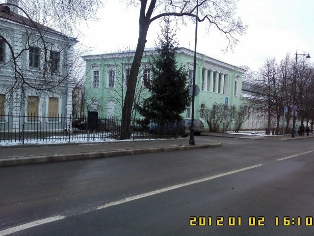 Садовая ул., вид на Аграрный университет