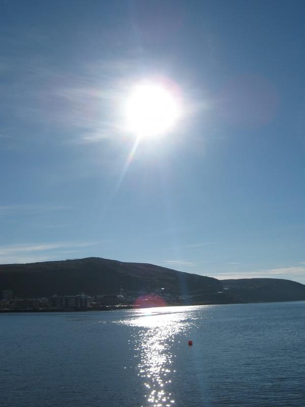 Солнце почти в зените