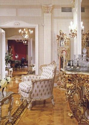 ТКАНИ.  Материи в интерьере стиля барокко уделялось особое внимание.