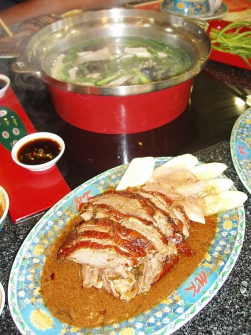 тайская утка ресторана МК
