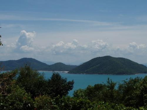 вид на соседние с Самуи островки