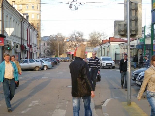 странные люди Москвы