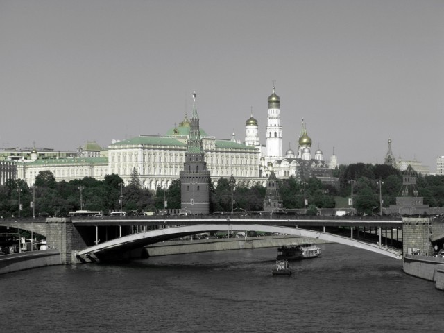 Moscow in a retro style