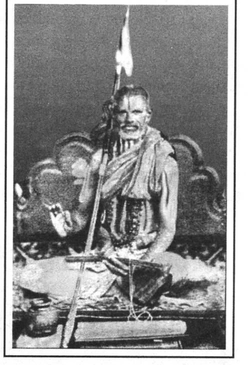 Шри Кришна Брахматантра Свами, ещё один из наставников Кришнамачарьи.