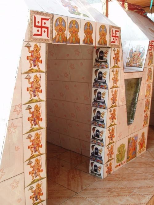 Ришикеш. в храме Нилакантха Махадев