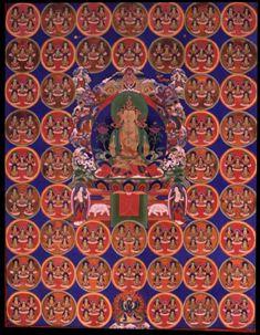 на фото: изображение божества Шенла Окар