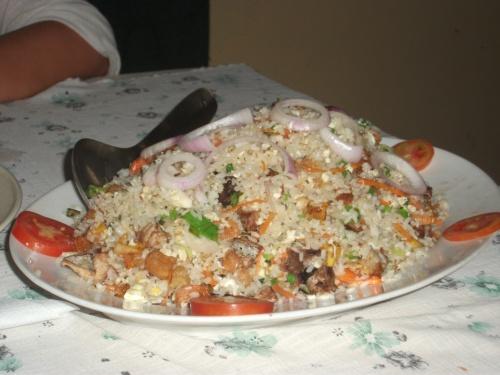 кормят не хило, эта порция сифуда стоит 300руп