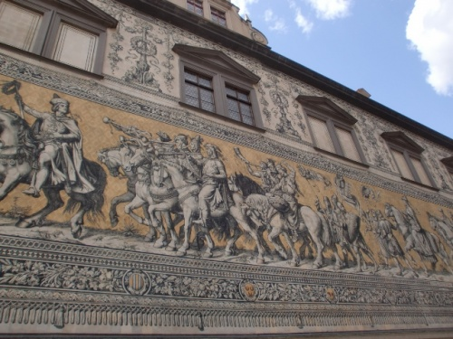 Дрезден. Настенная живопись