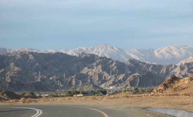 Новое шоссе в аль-Айне