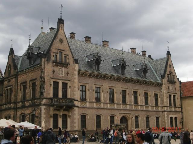 Исторические здания внутри Пражского Града 1