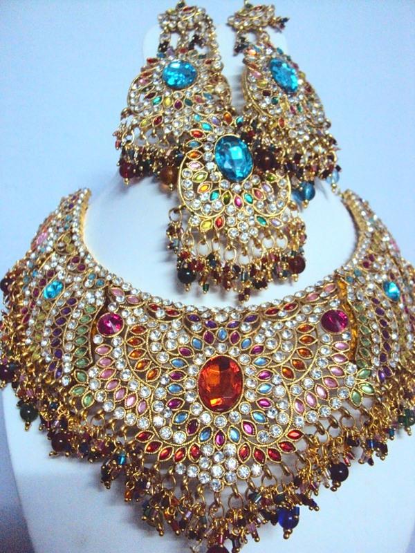 Описание индийские украшения