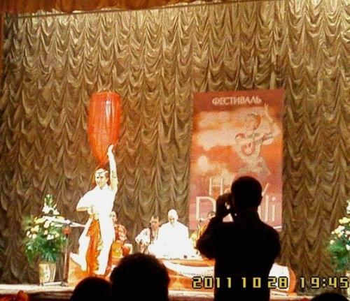 танцовщик Бхарата Натьям