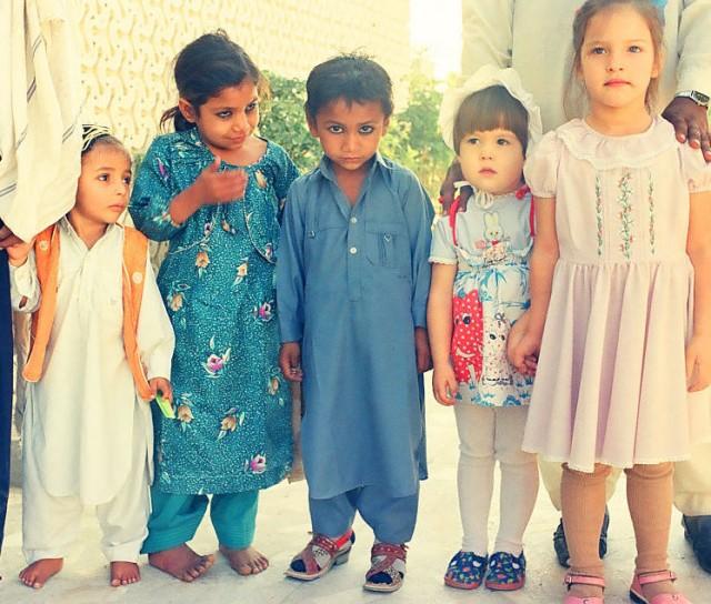 наши детки с пакскими на экскурсии