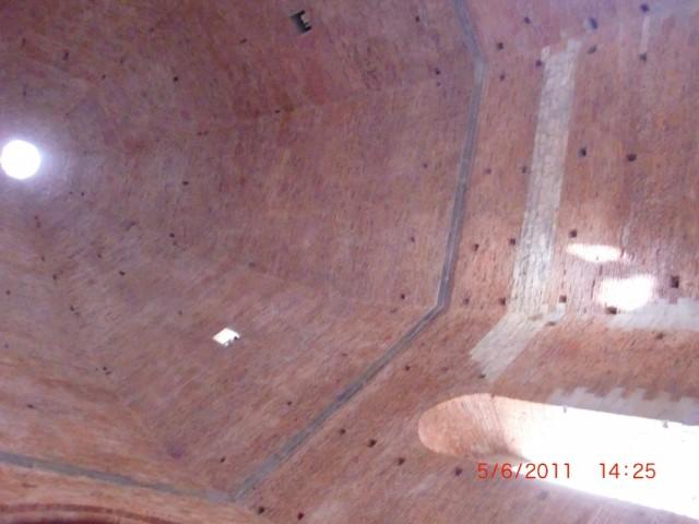 Купол баптистерия изнутри