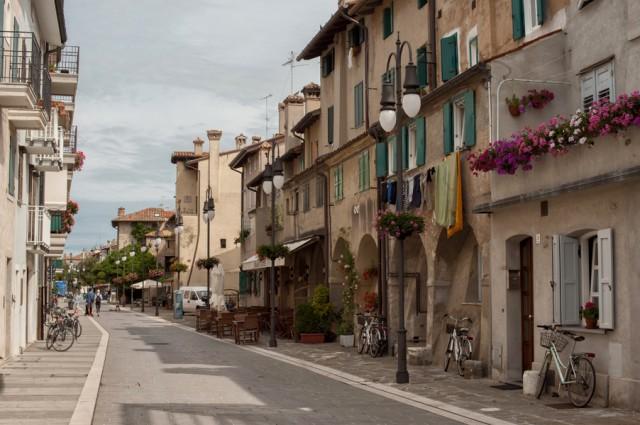 красивые улочки Градо