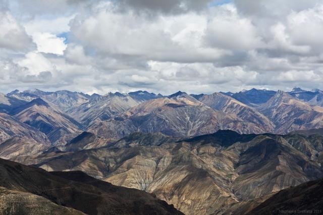 Горы Долпо - вид с перевала Shey La