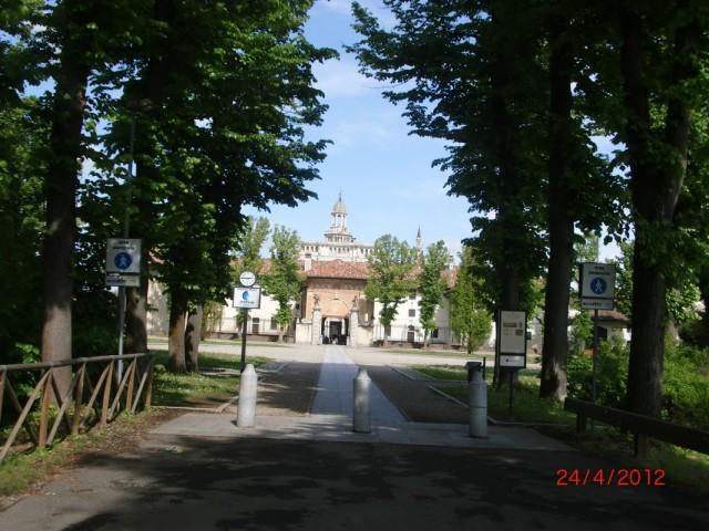 Чертоза-ди-Павия , главный вход