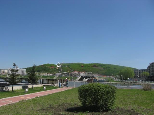 парк в Суйфеньхе