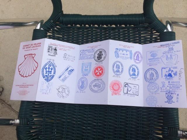 Кренсиаль перегрино - паспорт паломника