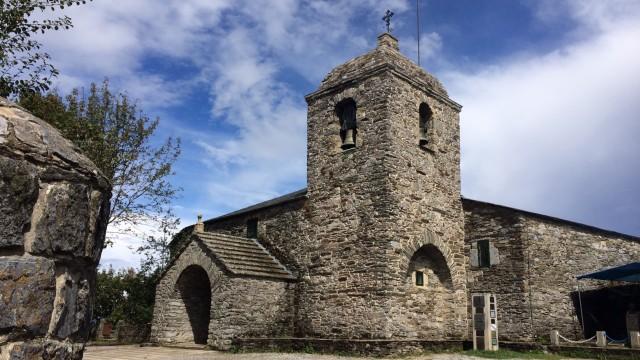 церковь в О Собрейро, где хранится галисийский грааль