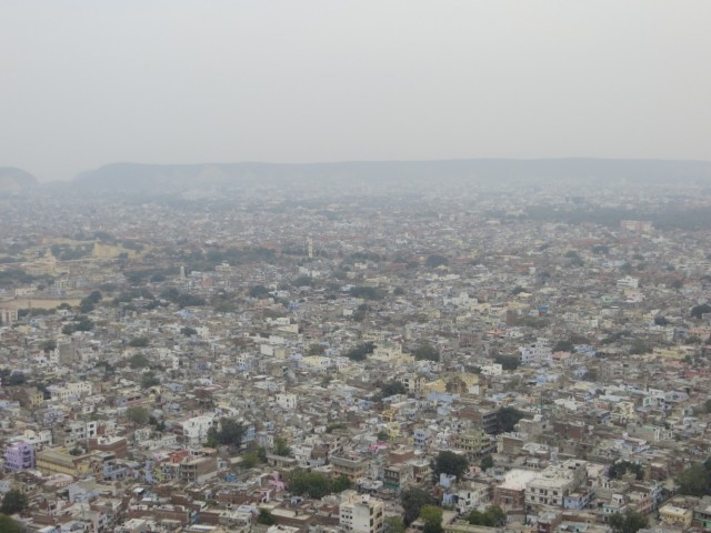 view from tiger fort