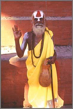 Индийские йоги, садху и просто святые люди