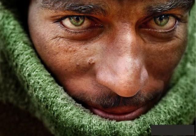 зеленоглазый индиец