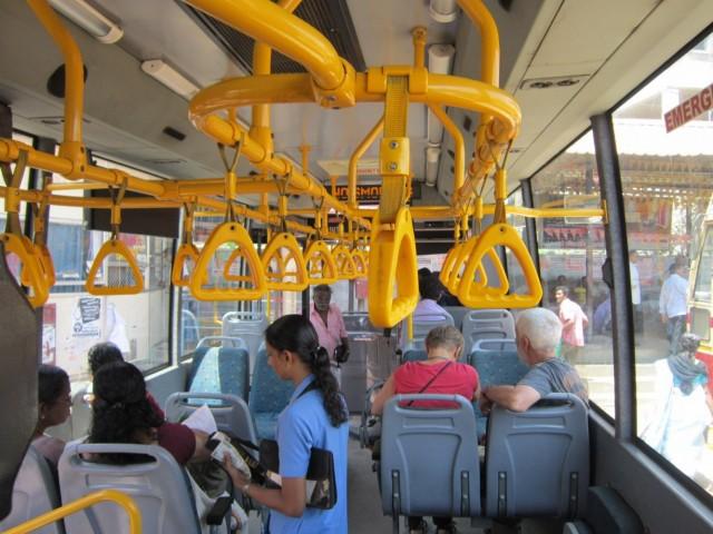 Автобус Тривандрум - Варкала.