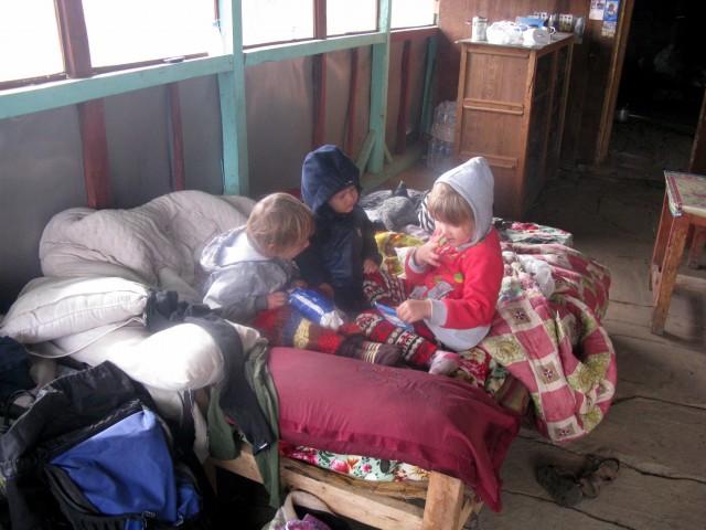 Детки на отдыхе