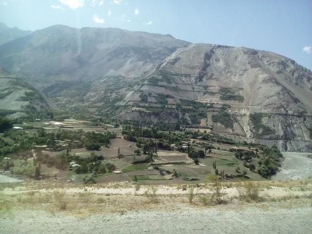 Большой афганский кишлак