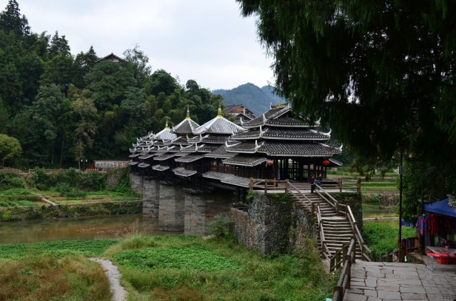 мост дождя и ветра