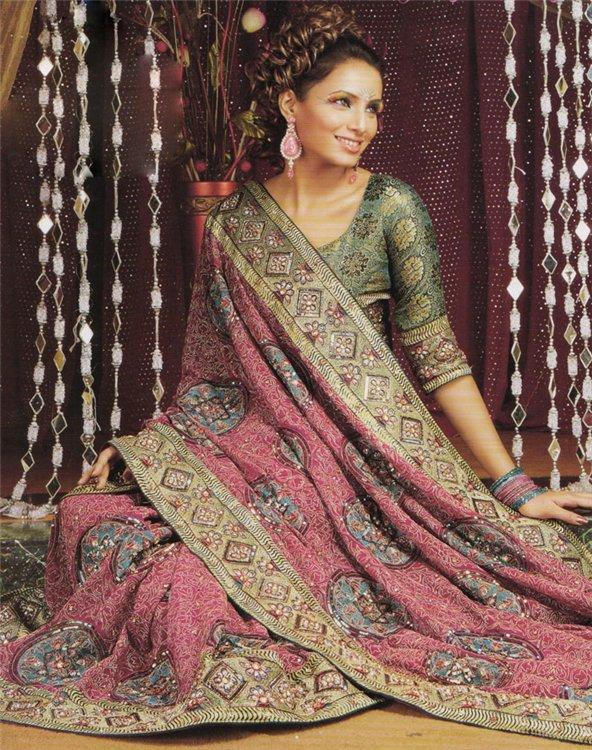"""Схема вышивки  """"Индия """": таблица цветов."""