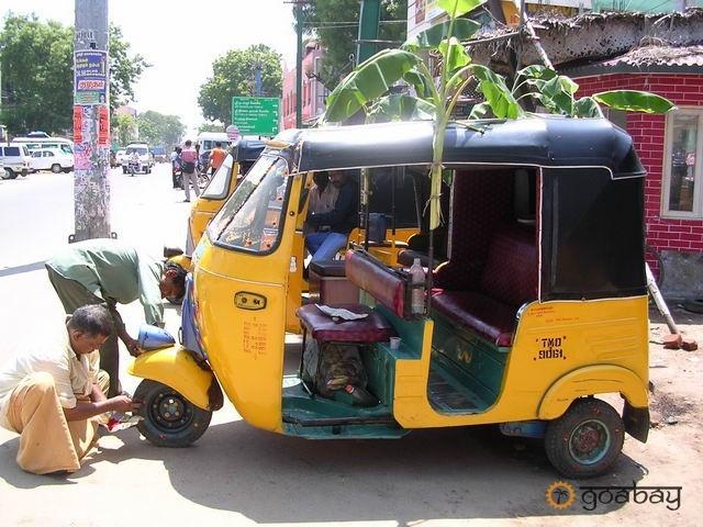 GoaBay Индия Рикша