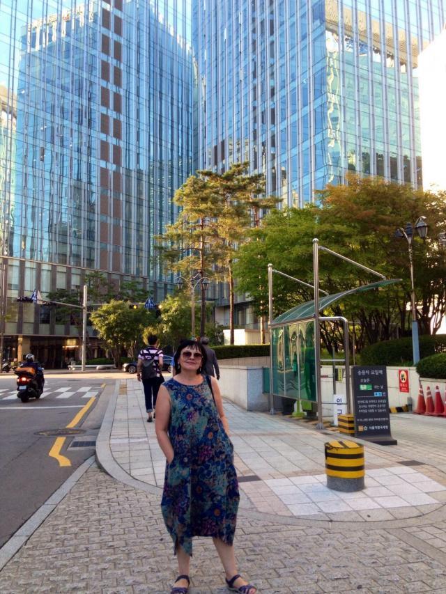 В Сеуле ещё лето (это не тропики!)