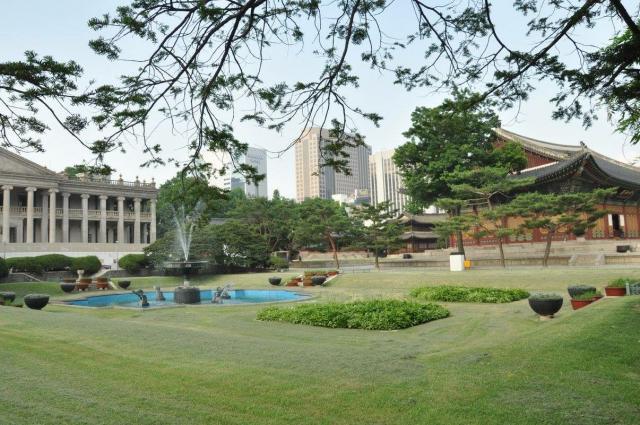 В Сеуле много зелёных парков