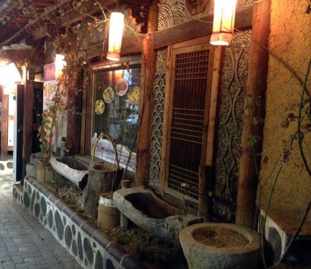 Уютные переулочки Сеула
