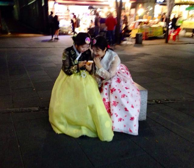 Патриотизм по девичье-корейски