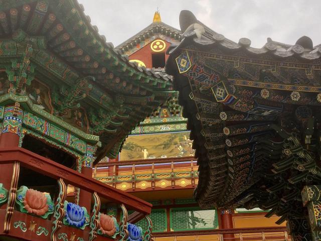 Mahabodhi Temple Seoul