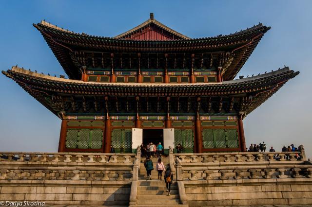 Кёнбоккун, дворец внутри комплекса