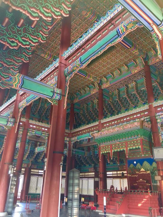 Кёнбоккун, внутреннее убранство дворца