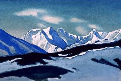 Рерих Н.К.: Гималаи. 1942.